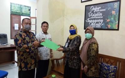 Penyerahan Donasi Pencegahan Penyebaran Virus Corona Covid-19